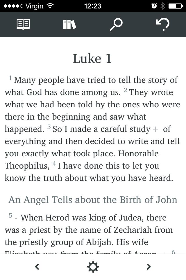 Bible Reader - Bibles.org